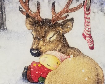 """5""""x 7"""" BOXED CHRISTMAS CARDS by Mary Melcher (10 cards and envelopes)"""