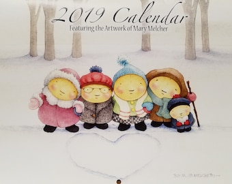 2019 CALENDAR by Mary Melcher