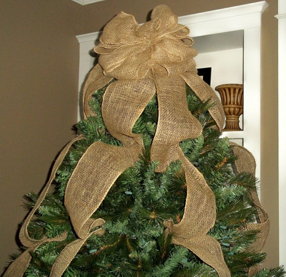 image 0 - Rustic Christmas Tree Topper
