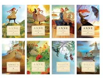 Anne of Green Gables covers SET of prints -  2014 edition by Elly MacKay