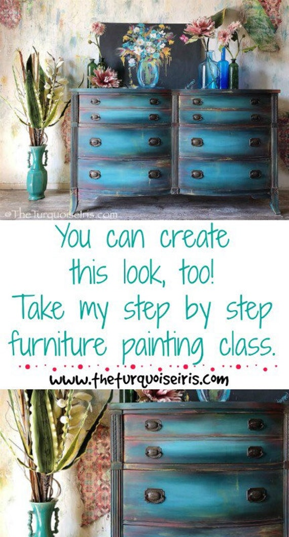 Step by Step Instructional Paint Workshop Video