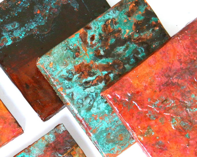 8x10 Blue Copper Sheeting, Amazing Color, Crafting Sheet Metal, Rustic Metal Stamping Supplies, Wholesale Copper, Country Style House