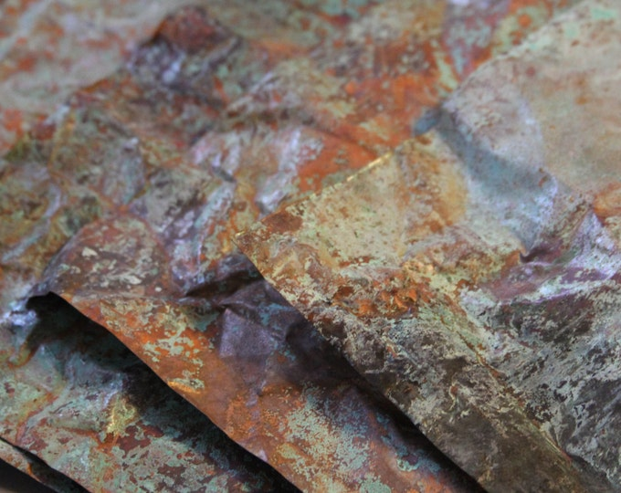 8inx10in Copper Sheeting -Wonderful Green/Blue Patina copper Sheet, Copper, Aged Copper, Metal Craft, Copper Sheet Metal, Aged Metal, Blue G