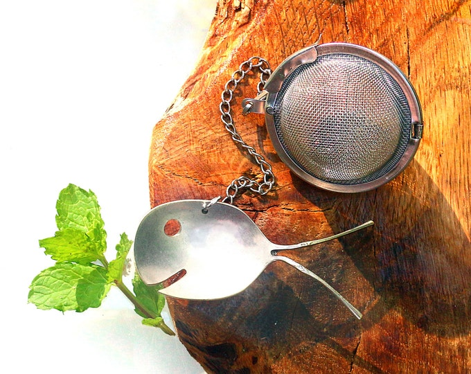 Tea Party Time! Add a Spoon Fish Tea Ball Strainer to Your Collection. They also make a Great Hostess Gift or Party Favor for Your Guests!