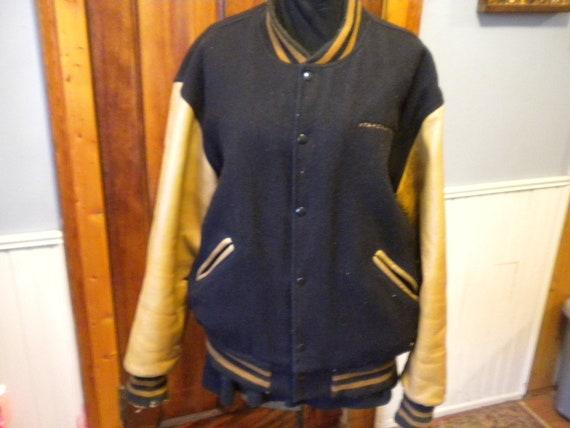 Vintage Mens Letterman Jacket