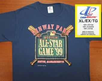 7ce4e98fc56 Fenway Park 1999 MLB All Star Game vintage t-shirt XL navy blue baseball Boston  Red Sox