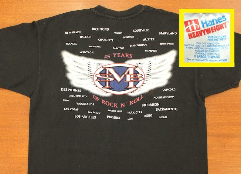 1e7bec345 Steve Miller Band vintage t-shirt XL black 90s 1993 concert | Etsy