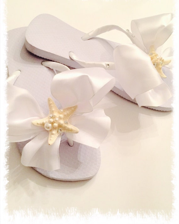 8609958cc07c Bridal Flip Flops Wedges.Wedding Flip Flops.Bridal