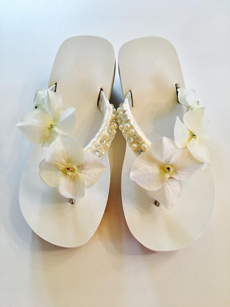 f2b6db6c61fcd0 WEDDING Flip FlopsBridal Flip Flops Wedges.Bridal Shoes.Beach