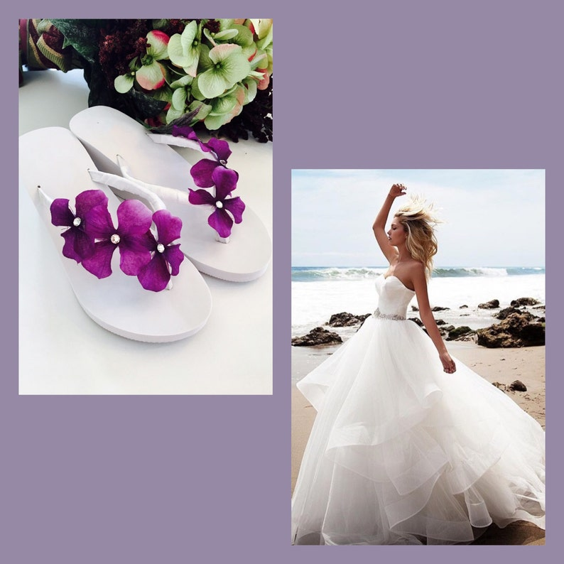 76b4b33e8dca Wedding Dress Flip Flops - Wedding Dress   Decore Ideas