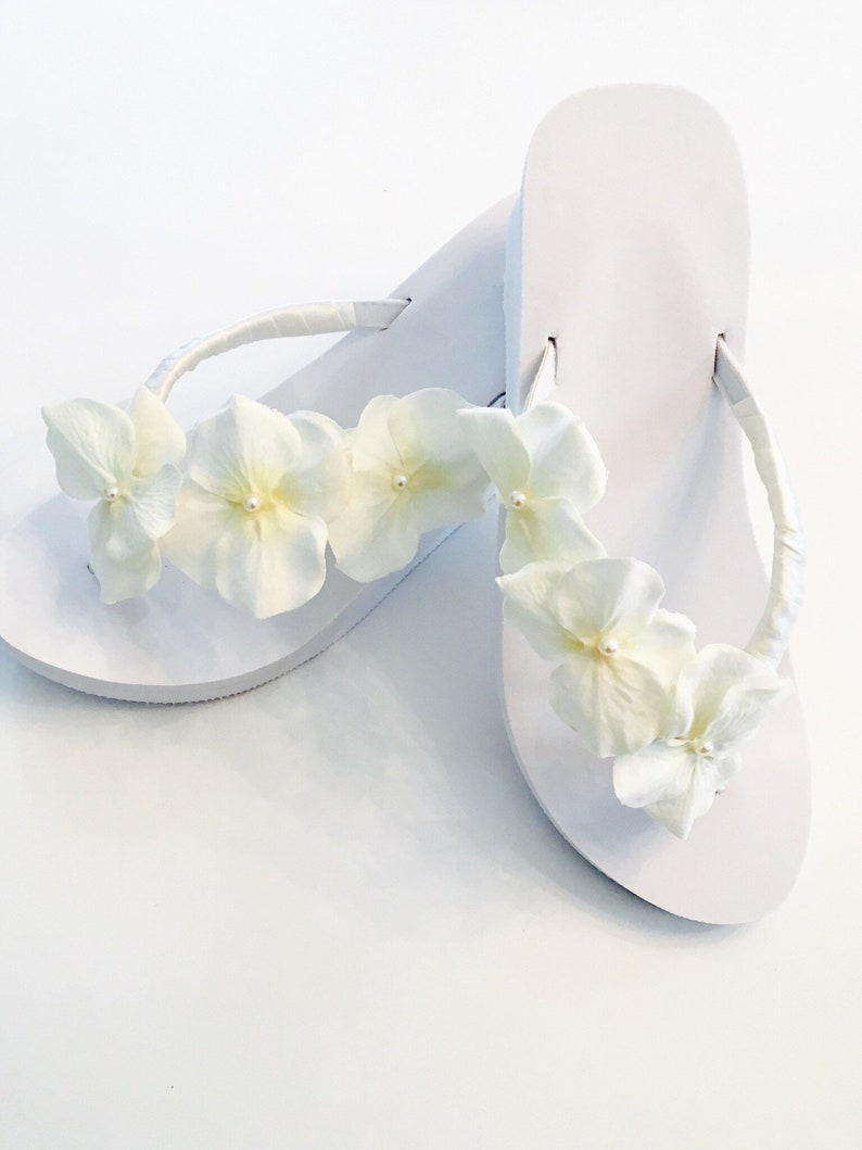3cf76b50d7b086 Bridal Flip Flops Wedges. Wedding Flip Flops. Wedding