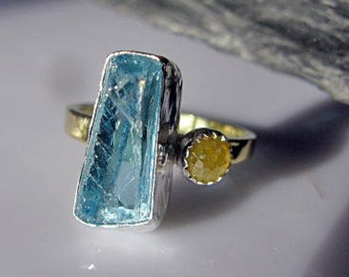Aquamarine Engagement Ring Size 6