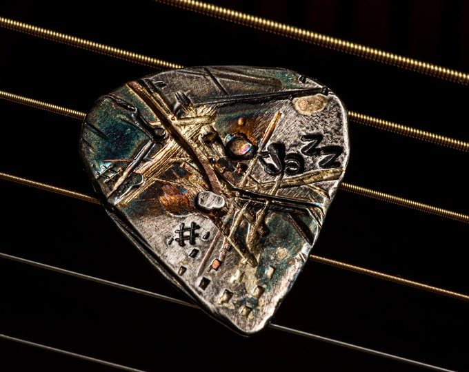 Diamond Guitar Pick Rock N Roll Unique Guitar Pick