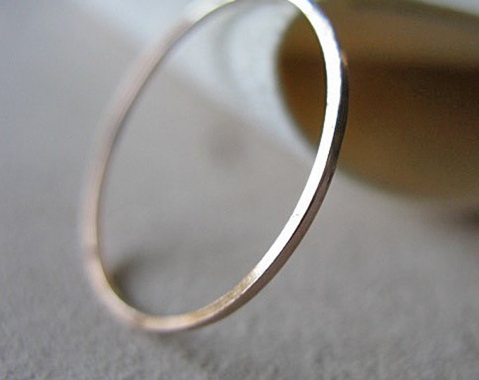 Skinny 14K Gold Ring Ladies Wedding Band