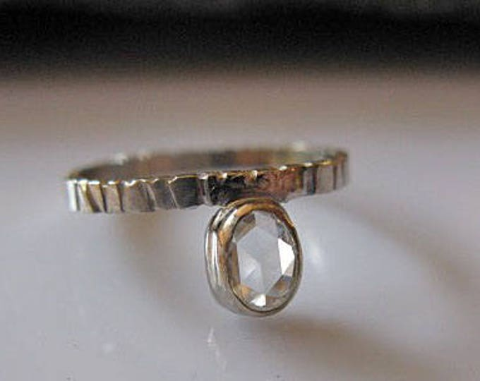 Floating Diamond Ring Size 6 1/2