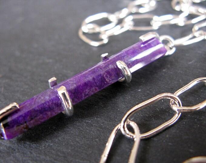 Handmade Sugalite Pendant Necklace