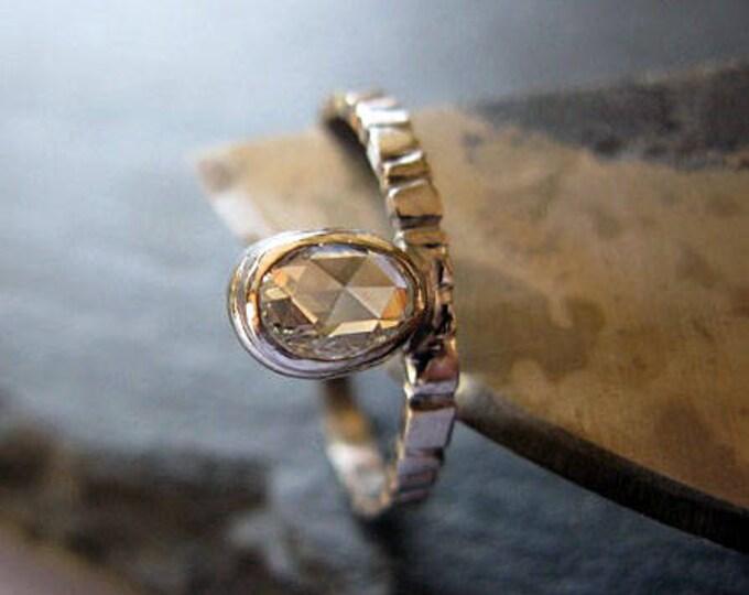 Floating Diamond Ring Size 6 1/2