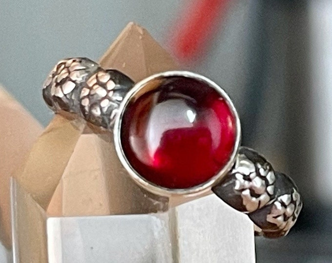 Victorian Style Garnet Ring