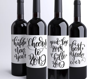 """Résultat de recherche d'images pour """"happy new year 2019 wine"""""""