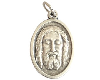 Holy Face of Jesus Christ Catholic Medal Rosary Parts