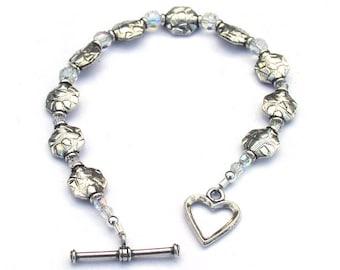 Bracelet Perles en argent sterling pour les femmes qui ont tout