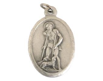 Saint Lazarus Sterling Medal