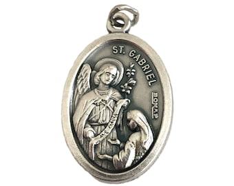 Archangel St Gabriel Medals Catholic Patron Saint of Messengers