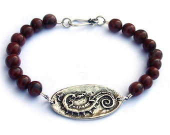 Vampire Diaries Celtic Dragon Bracelet