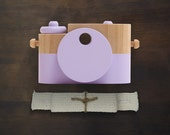 Lilac Pixie - Wooden Toy Camera