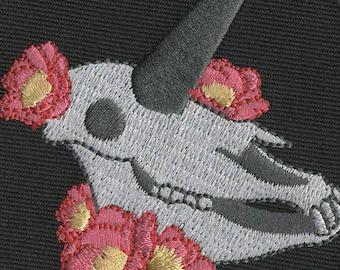 Unicorn Skull Patch