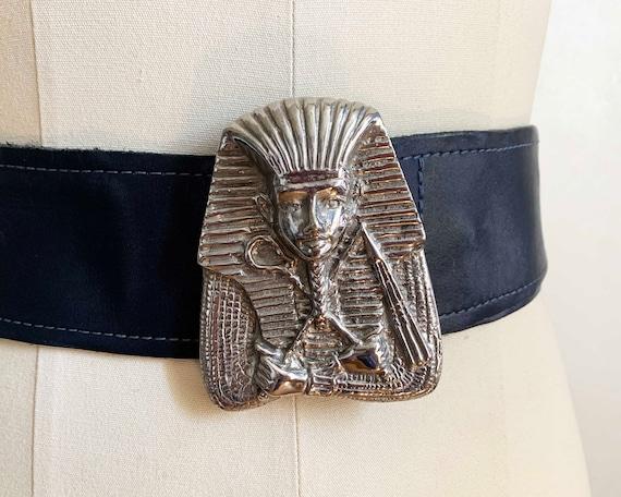 1970s Egyptian Revival Pharaoh Belt - image 2