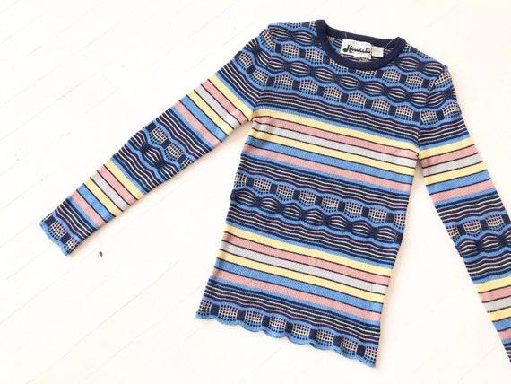 1970s Striped Knit Sweater