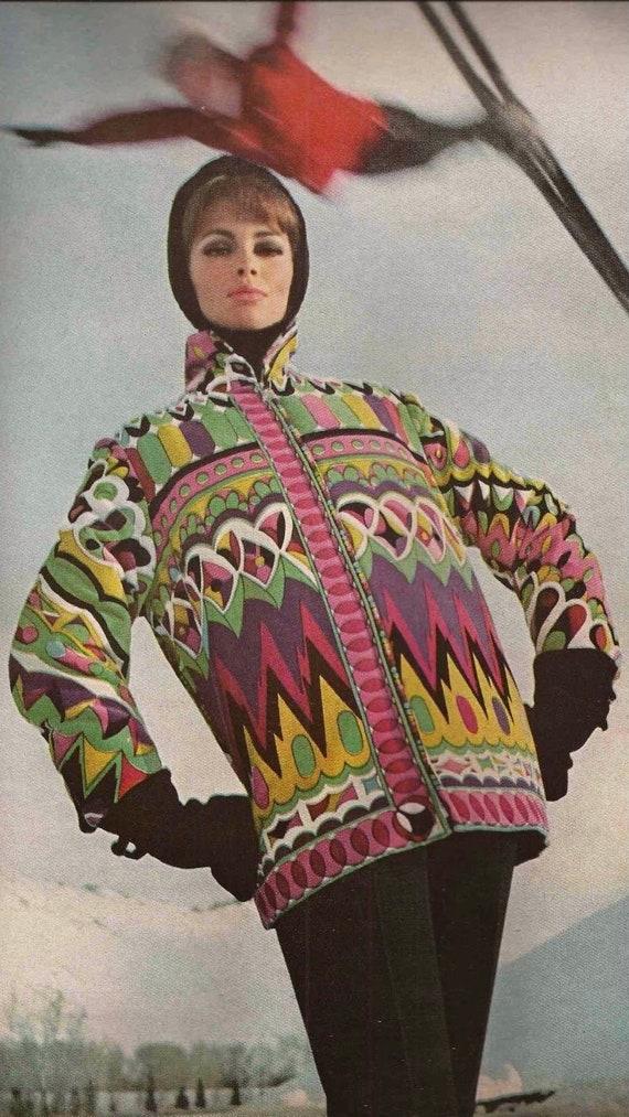 1960s Emilio Pucci for White Stag Ski Jacket - image 7