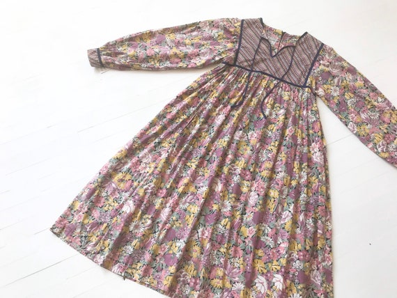 1970s Hildebrand Liberty of London Floral Dress