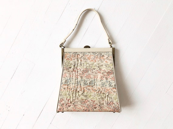 1950s Chinoiserie Top Handle Bag