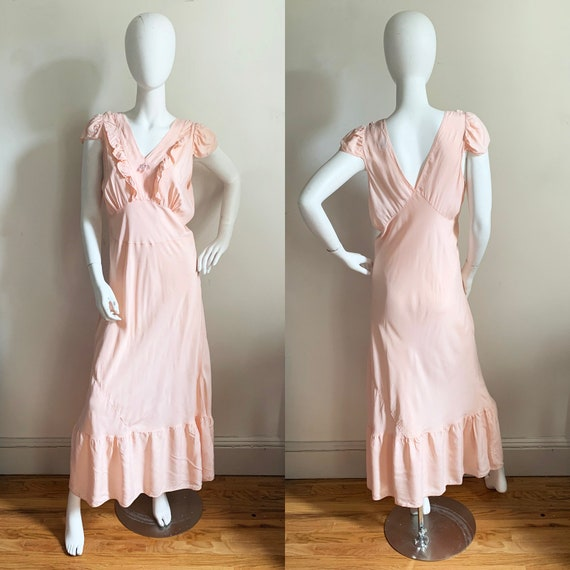 1930s Lady Edso Full Rayon Slip