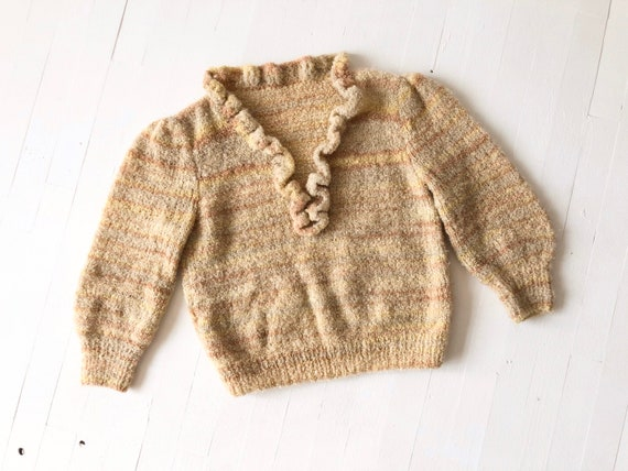 Vintage Sandy Bouclé Knit Sweater
