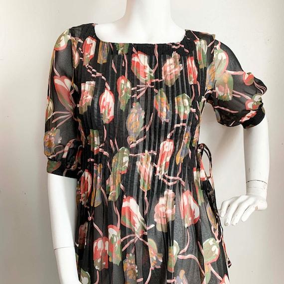 Nipon Boutique Crepe Tulip Dress
