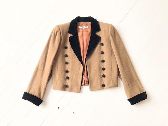 1970s Yves Saint Laurent Rive Gauche Cropped Wool