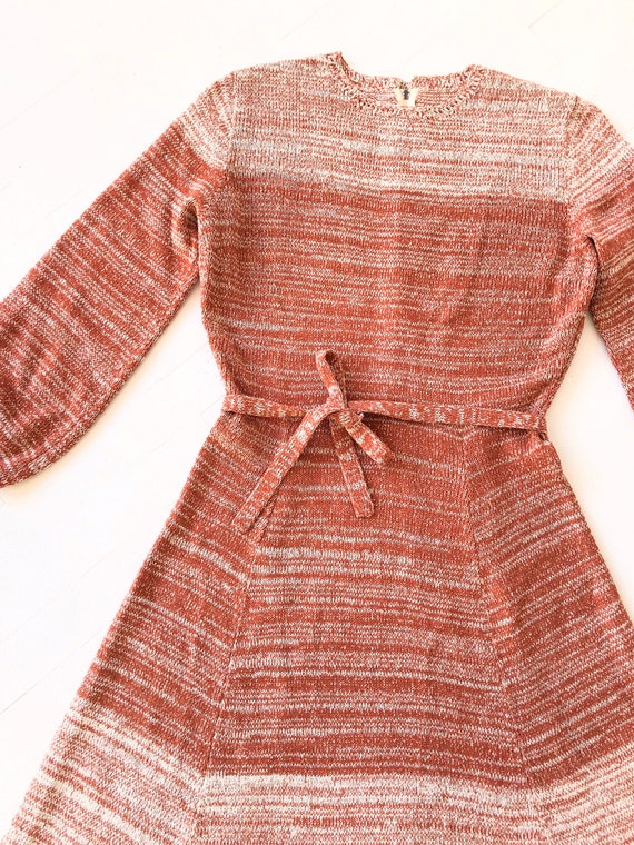 1970s Ombré Knit Dress - image 2