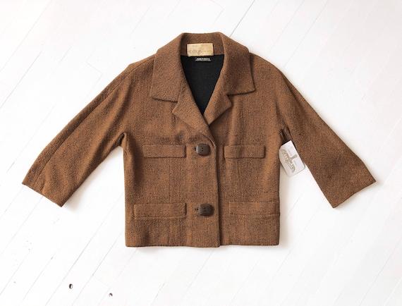 1950s Wool Crop Jacket