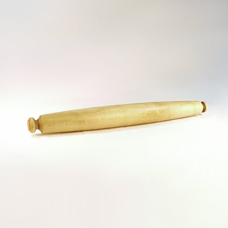 Tapered French Rolling Pin Maple 18 long