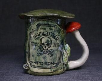 Unfiltered Poison Mushroom Mug