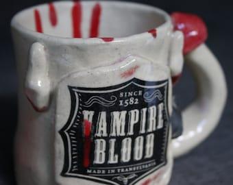 Vampire Mushroom Mug