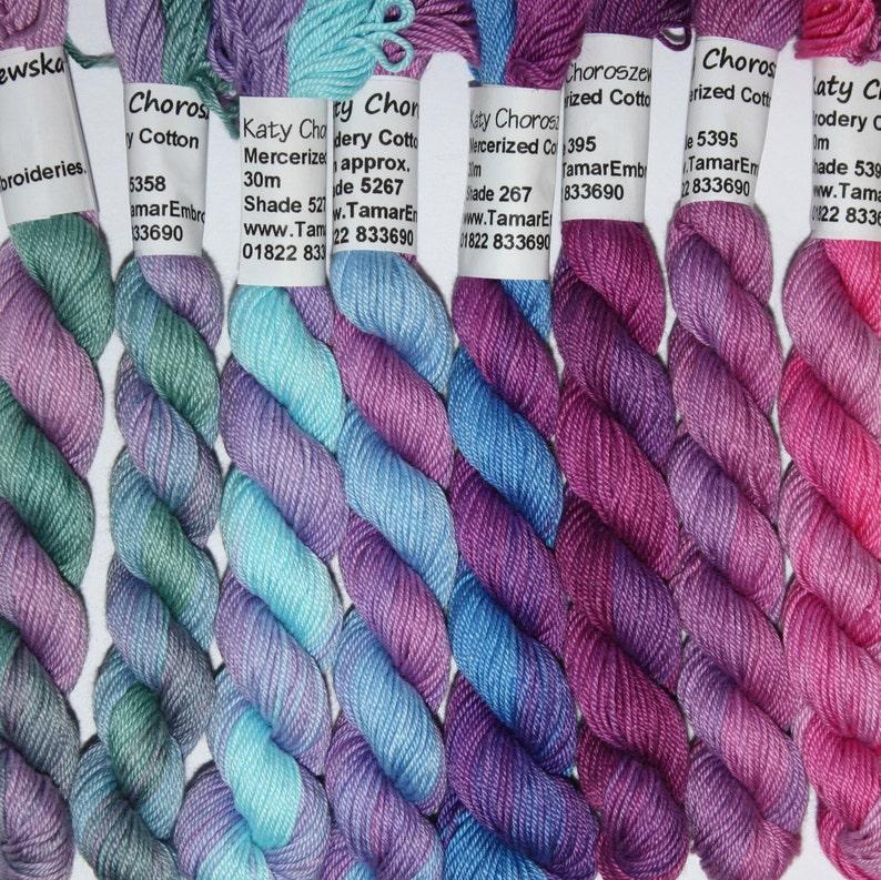 Hand Embroidery Thread  Brodery Cotton Needlecraft Yarn   image 0