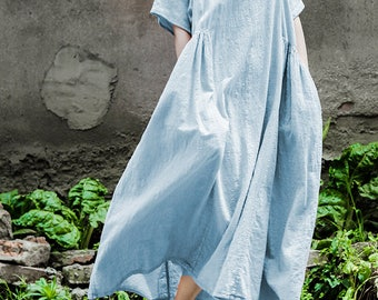 9a895450fe5 Oversized Loose Fitting Long Maxi Dress