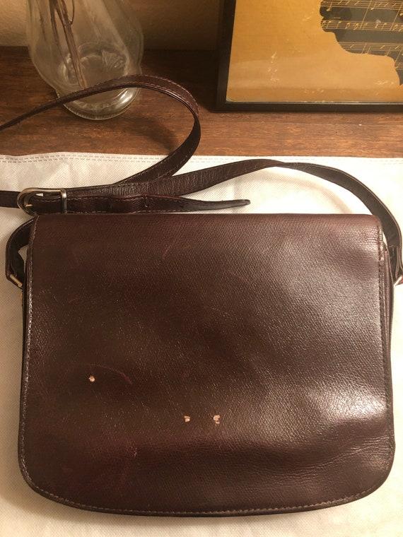 Vintage 1970s Gucci Brown Leather Shoulder Bag - image 2