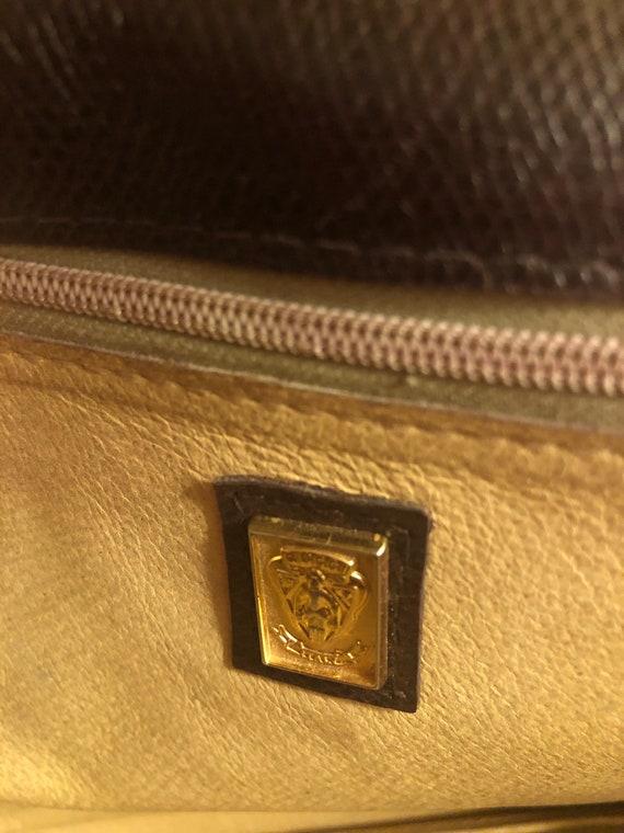 Vintage 1970s Gucci Brown Leather Shoulder Bag - image 4