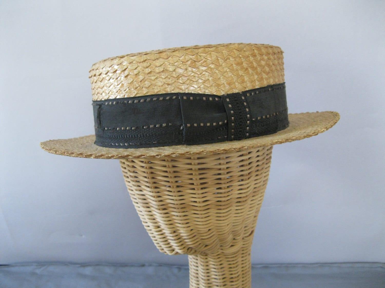 c3373d91a7d 93+ 1920s Straw Hat - Vintage 1920s Amazing Red Straw Cartwheel ...