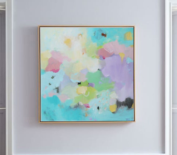 Etsy Modern Abstract Art